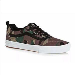 Vans Kyle walker camo sneaker shoes black white